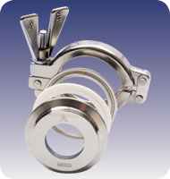Sight Glass Sanitary Metaclamp